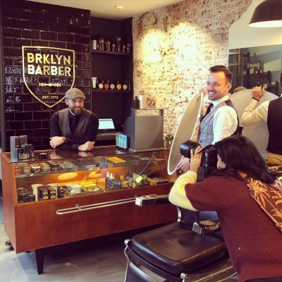 Interieurontwerp kapsalon Brooklyn Barber