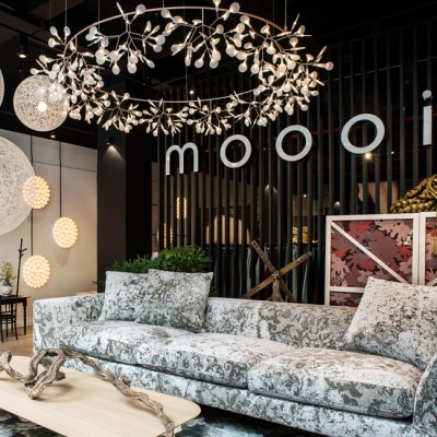 Lichtontwerp showroom Moooi New York City